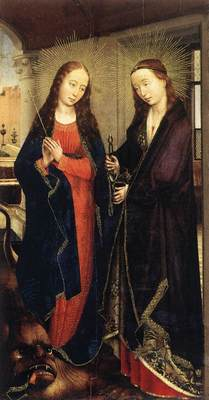 Weyden Sts Margaret and Apollonia