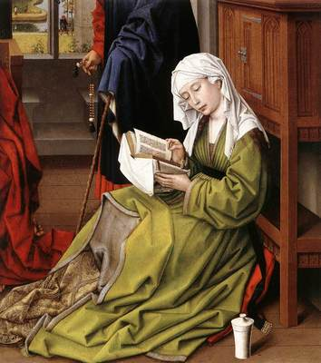 Weyden The Magdalene Reading