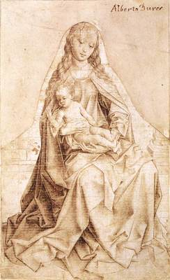 Weyden Virgin with the Blessing Child