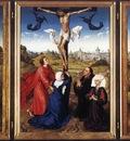 Weyden Crucifixion Triptych