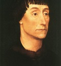 weyden portrait of a man 1455