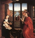 Weyden St Luke Drawing a Portrait of the Madonna undated