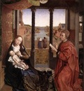 Weyden St Luke Drawing a Portrait of the Madonna