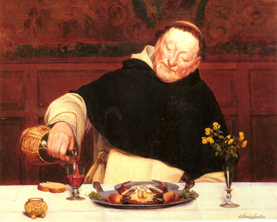 Sadler Walter dendy The Monks Repast