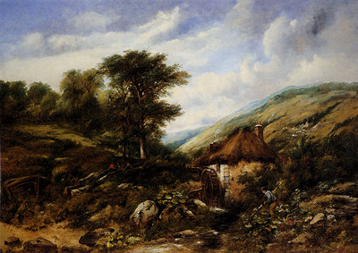 Watts Frederick William The Mill Stream