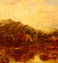 Watts Frederick Waters A Mill Stream Among The Hills