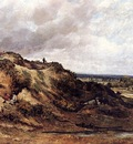 Watts Frederick Waters View Of Hampstaed Heath