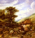 Watts Frederick William An Overshot Mill In A Wooded Valley