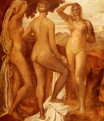 Watts George Frederic The Judgement Of Paris