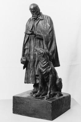 Watts George Frederick Alfred Tennyson bronze