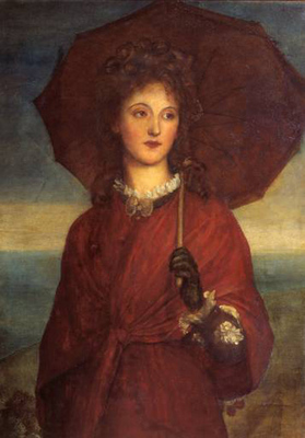 watts george frederick eveleen tennant later mrs f w h  myers exhibited