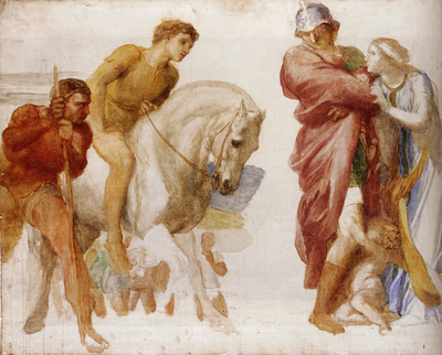 Watts George Frederick Study For Coriolanus