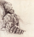 Watts George Frederick Ellen Terry Asleep