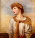 Watts George Frederick Portrait Of Miss Lilian Macintosh