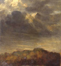 watts george frederick study of clouds c1890