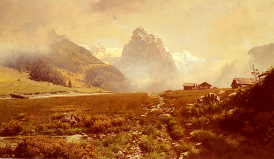 Waugh Frederick Judd The Swiss Alps