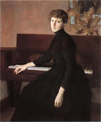 Weir Julian Alden At the Piano