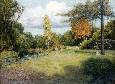 Weir Julian Alden Autumn Days