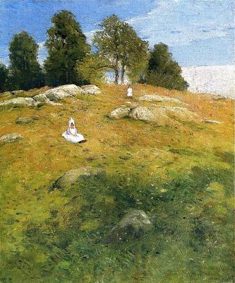 Weir Julian Alden Summer Afternoon Shinnecock Landscape