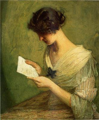 Weir Julian Alden The Letter