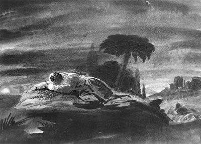 Weir Robert Walter Christ In The Garden Of Gethsemane