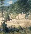 Weir Julian Alden The Building of the Dam