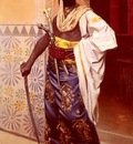 Weisse Rudolphe A Nubian Guard