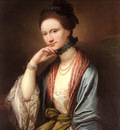West Benjamin Portrait Of Ann Barbara Hill Medlycott