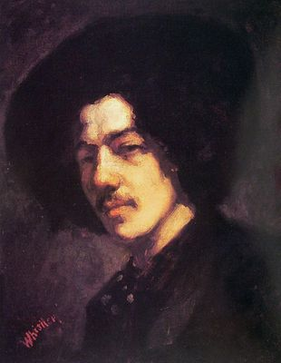 Portrait of Whistler with Hat