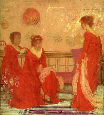 Whistler Harmony in Flesh Colour and Red
