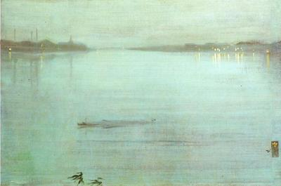 Whistler Nocturne Blue and Silver