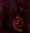 Arrangement in Brown and Black Portrait of Miss Rosa Corder