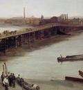 Brown and Silver Old Battersea Bridge