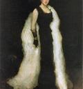 Whistler Arrangement in Black No 5 Lady Meux