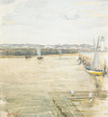Whistler James Abbott McNeill Scene On The Mersey