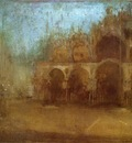 Whistler Nocturne Blue and Gold St Mark s Venice