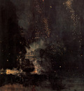 Whistler Nocturne in Black and Gold The Falling Rocket