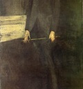 Whistler Portrait of George W  Vanderbilt