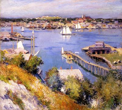 Metcalf Willard L Gloucester Harbor