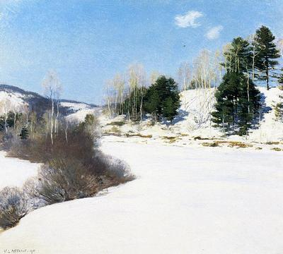 Metcalf Willard L Hush of Winter