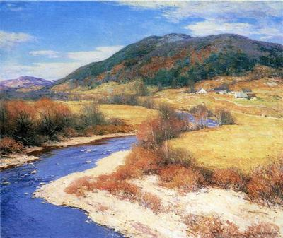 Metcalf Willard L Indian Summer Vermont