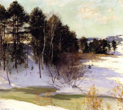 Metcalf Willard L Thawing Brook