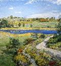 Metcalf Willard L Autumn Roadside