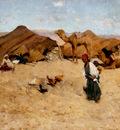 Metcalf Willard Leroy Arab Encampment Biskra