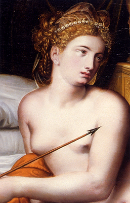 Key Willem Adriaensz Venus And Cupid detail