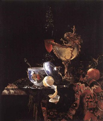 KALF Willem Still Life With A Nautilus Cup