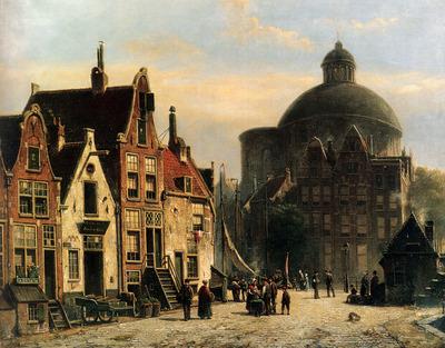 Koekkoek Willem De Lutherse Kerk Amsterdam