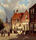 Koekkoek Willem Town Square