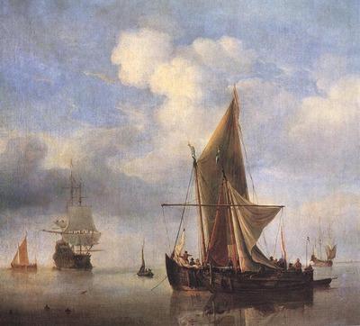 VELDE Willem van de the Younger Calm Sea