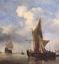 VELDE Willem van de the Younger Calm Sea